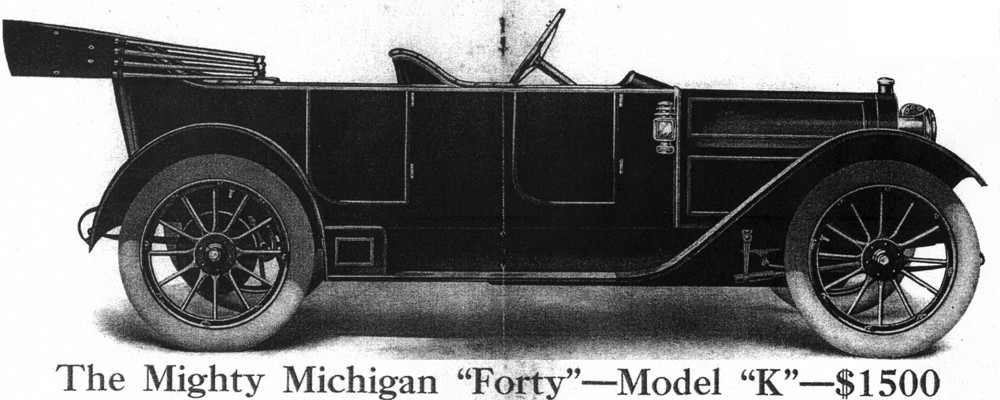 Mighty Michigan 40, Michigan Motor Car Company, Michigan Buggy Company – Restoring the 1912 Model K
